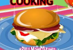 Игра Приготовь бургер