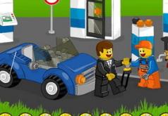 Игра Лего Автозаправка