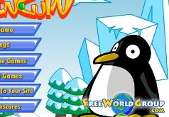 игра запускать пингвинов