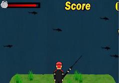 Игры Поймай акулу