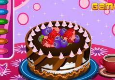игры украшение торта ко дню рождения