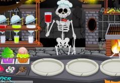 Игра Ресторанный дворик на кладбище