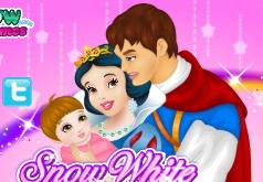 Игры Белоснежка и принц ухаживают за малышом