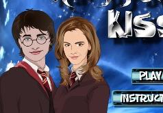 Игры Гарри и Джинни - поцелуй