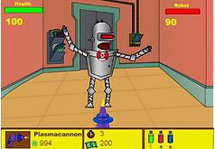 Игры Футурама Наступление роботов