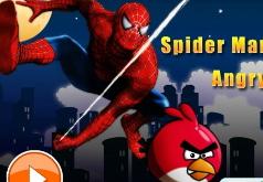 Игра Человек Паук Спасает Злых Птиц