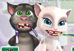 игры анжела кошка беременна