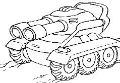 игры нераскрашенный танк