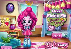Игры Пинки Пай Убирает в Комнате