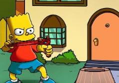 Игра Симпсоны стреляют из рогатки