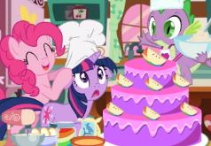 игры пони свадебный торт