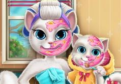 Игры Мама Анжела и дочка