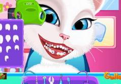 Игры Говорящий Том Украшает Зубы