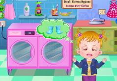 Игры Малышка наводит чистоту