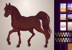 игра создай свою фантастическую лошадь