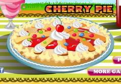 Игры Украшаем пирог с вишней