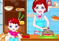 Игры Малыш Лулу готовим с мамой