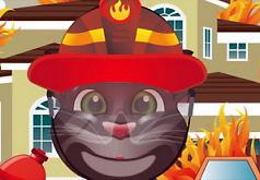 Игра Говорящий Том Тушит Пожар