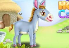 Игры Ухаживаем за осликом