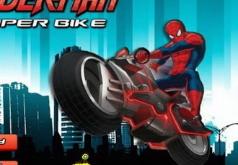 Игра Супер байк Спайдермена