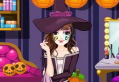 Игра для девочек Преображение на Хэллоуин