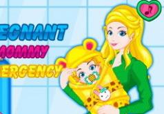 Игры Беременная мамочка рожает
