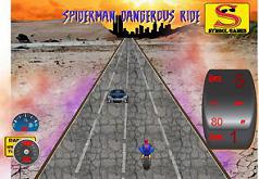 Игра Человек паук Опасная езда
