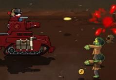 игры на двоих зомби на танках