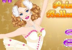 игры для девочек одевалки барби балерина