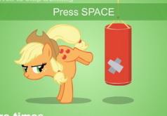 игры мой маленький пони эпл джек