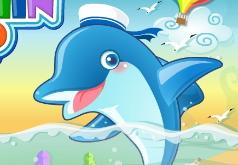 Игры зума дельфин и шарики