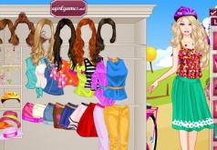 Игры Модная велосипедистка Барби
