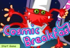 игры космический завтрак