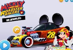 Игры Микки Маус три в ряд Гонка на родстере