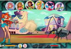 игры для девочек винкс сражения