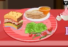 игры аппетитный французский завтрак