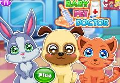 Игра Маленькие зверята у доктора