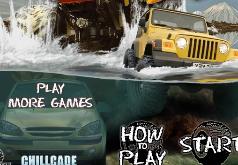 Игры на джипах по бездорожью