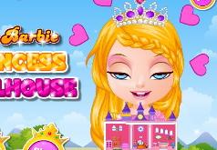 Игра Малышка Барби Кукольный дом принцессы