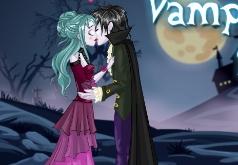 игры вампиры для девочек поцелуи