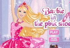 игры для девочек барби розовые пуанты