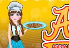 Игры Холодное сердце Анна готовит пиццу