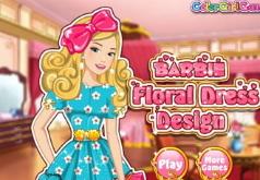 Игры Дизайн цветочного платья