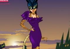 Игры Супергерой женщина кошка одевалка