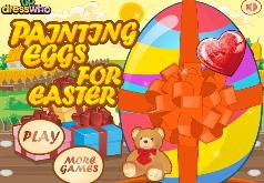 игры раскрашивать яйца