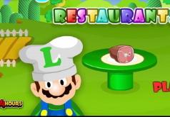 Ресторан Луиджи играть   бесплатно