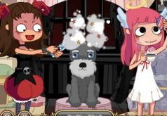 игры для девочек ангел и демон парикмахер