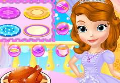 Игры День Благодарения во дворце Софии