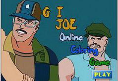 Игра Раскраска Солдаты Джо
