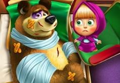 Игры лечить машу и медведя